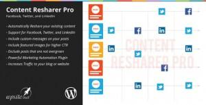 WP Content Resharer Pro