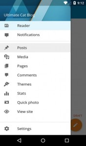 WordPress For Android Version 3.5