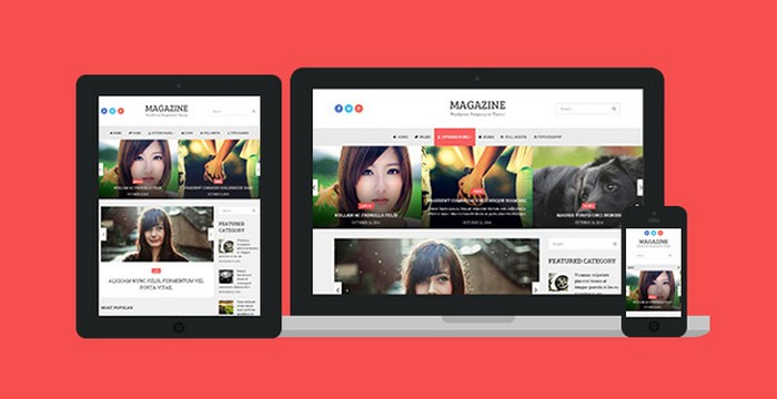 Magazine - A WordPress Theme for Bloggers by MyThemeShop