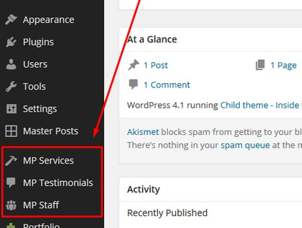How to Create Testimonials, Services and Staff Custom Posts in WordPress