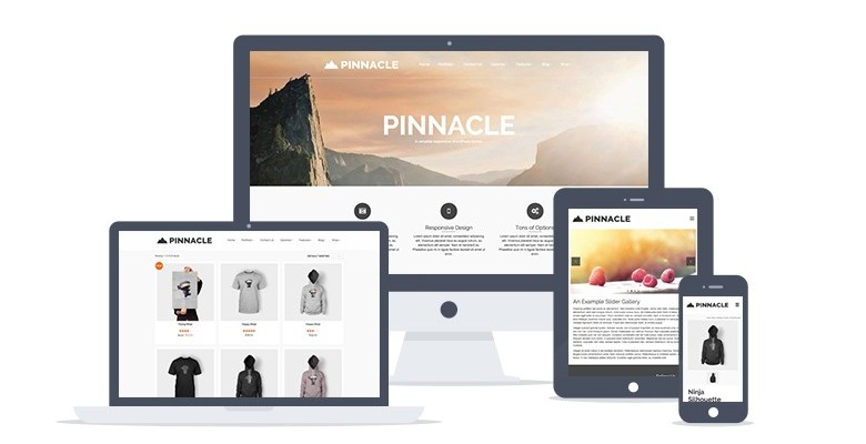 Pinnacle - A Feature-rich Free WordPress Theme by Kadence Themes