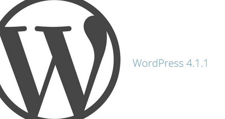 WordPress 4.1.1 - A Maintenance Release
