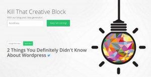How to Generate New Ideas for Your WordPress Blog