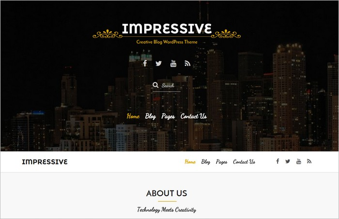 New Free WordPress Themes February 2015 Edition