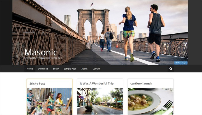 New Free WordPress Themes March 2015 Edition