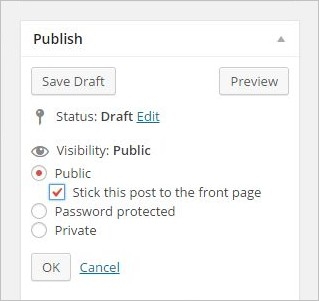 How to add Sticky Posts in WordPress for Categories