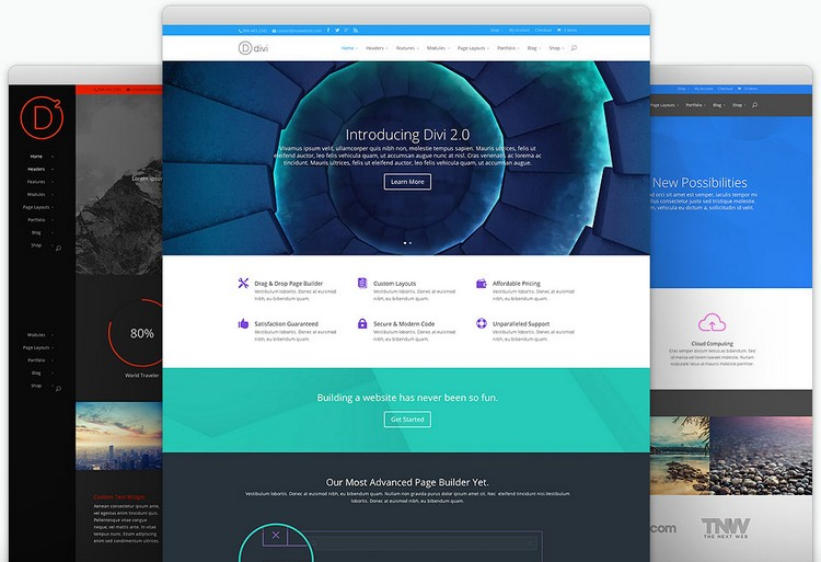 Divi – A Powerful WordPress Theme from Elegant Themes