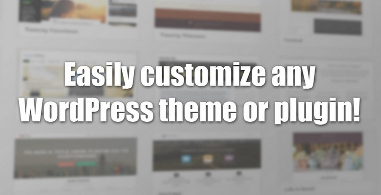 Stylechanger WordPress Plugin Review - Customize any WordPress Theme or Plugin