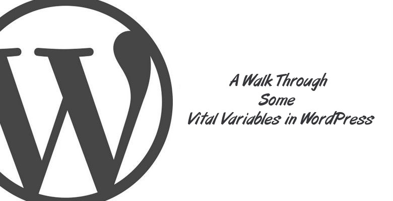 A Walk Through Some Vital Variables in WordPress