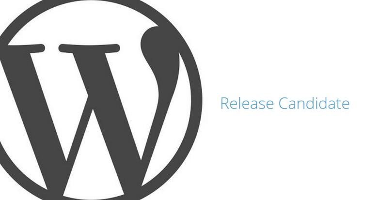 WordPress Release Candidate