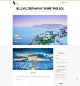 MyBlog - A Blog Magazine WordPress Theme from WPKube