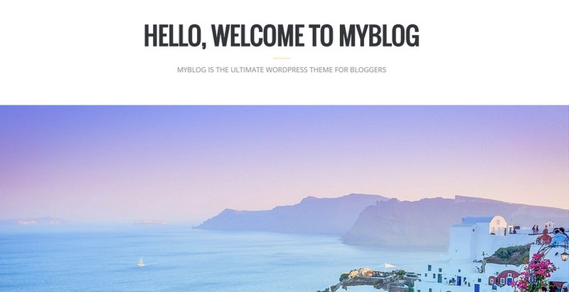 MyBlog - A Blog Magazine WordPress Theme from WPKube