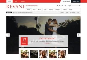 Revant - A Free WordPress Theme in Magazine Style by Kopatheme