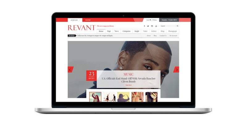 Revant - A Free WordPress Theme in Magazine Style by Kopatheme