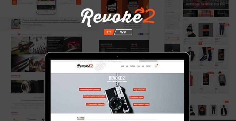 Revoke2 – A Brand New (rebuilt) WordPress theme from TeslaThemes