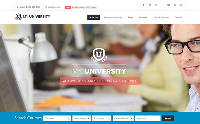 Best Education WordPress Themes 2015