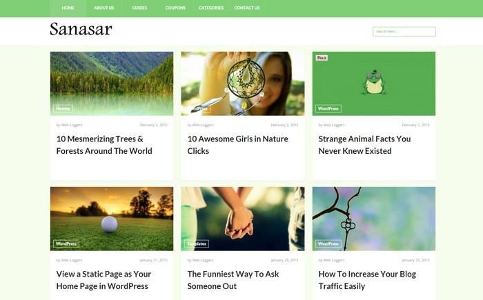 New Free WordPress Themes May 2015 Edition