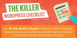 The Ultimate WordPress Checklist that will Blow your Mind!
