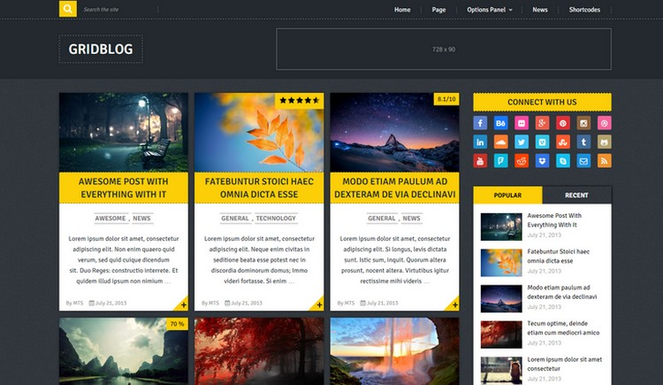 Top 10 New Free WordPress Themes July 2015 Edition