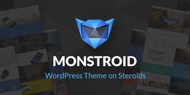 Monstroid - A WordPress Theme on Steroids