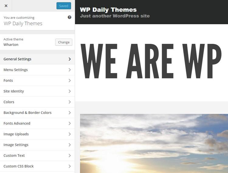 Wharton: A Bold Premium WordPress Theme