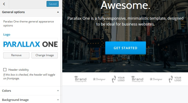 Themeisle's One Page Theme Parallax One: Premium Quality Though Absolutely Free