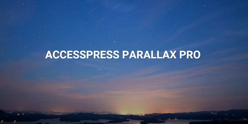 AccessPress Parallax PRO Review – A Beautiful WordPress Theme with Parallax Design