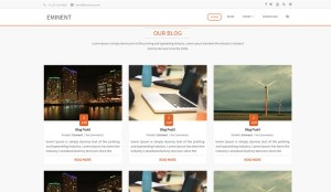 Top 10 New Free WordPress Themes August 2015 Edition