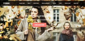 Titania WordPress Theme