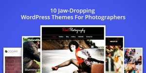 0 Jaw-Dropping WordPress Themes For Professional Photographers