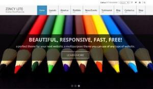 Top 10 New Free WordPress Themes September 2015 Edition