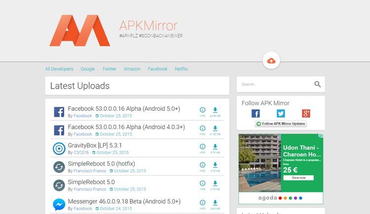 افضل 5 مواقع لتحميل تطبيقات والعاب الأندرويد بصيغة apk مجانا