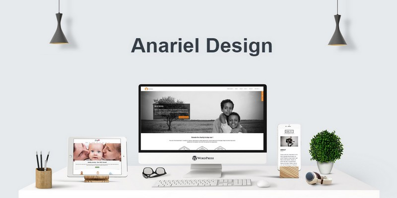 Anariel Design WordPress Themes Giveaway - Win 3 Anariel Premium Plans