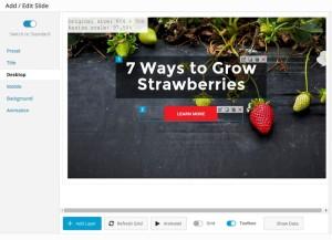 Sangar Slider: A Modern WordPress Slider with a Creative Twist