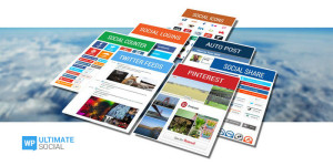 WP Ultimate Social - The only Social Media WordPress Plugin You Ever Need