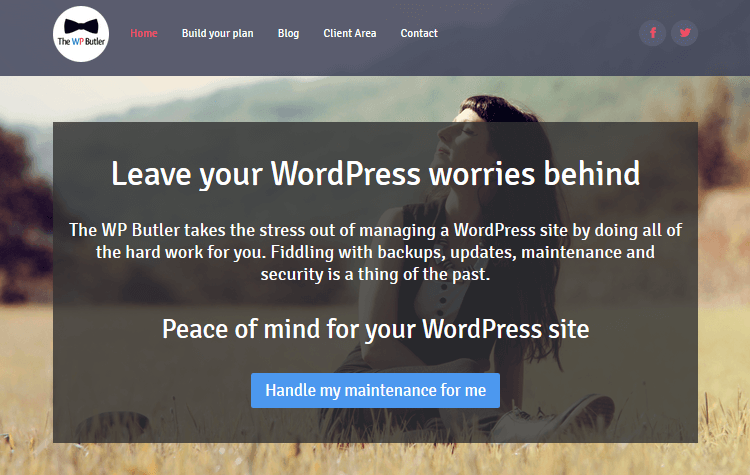 WordPress Maintenance Service - The WP Butler