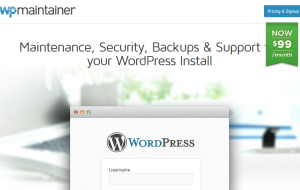 WordPress Maintenance Service - WP Maintainer