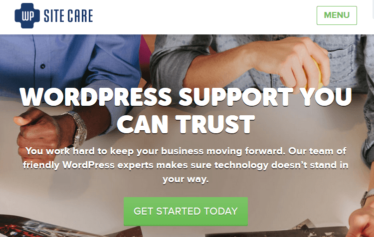 WordPress Maintenance Service - WP Site Care
