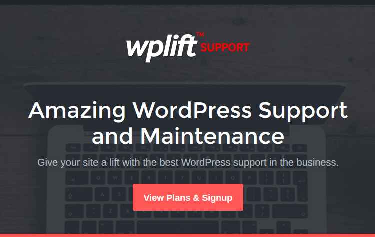 WordPress Maintenance Service - WPLift Support