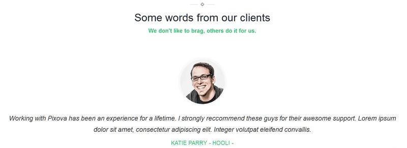 Pixova Lite: A Free One Page, Full Featured WordPress Theme