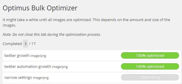 WordPress Optimus Image Optimizer Giveaway