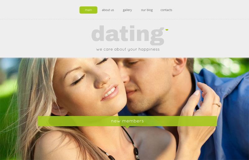 dating website with wordpress