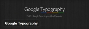 WordPress Plugins for Better Typography