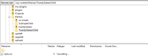 Create Child Theme Folder