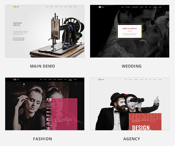 H-Code: A Powerful, Responsive & Multipurpose WordPress Theme