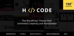 H-Code: A Powerful, Responsive & Multipurpose WordPress Theme