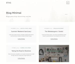 Stag: A WordPress Theme Offering Endless Portfolio Design