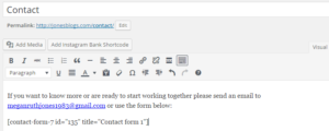 How to Add a Contact Form to Your Site with Contact Form 7