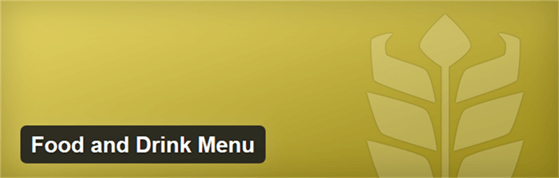 free wordpress plugins to build a menu for cafes and restaurants